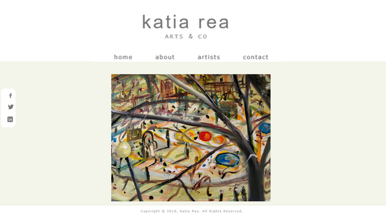 Art curator website.